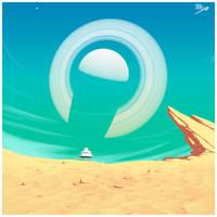 Desert Moon by DCkiq