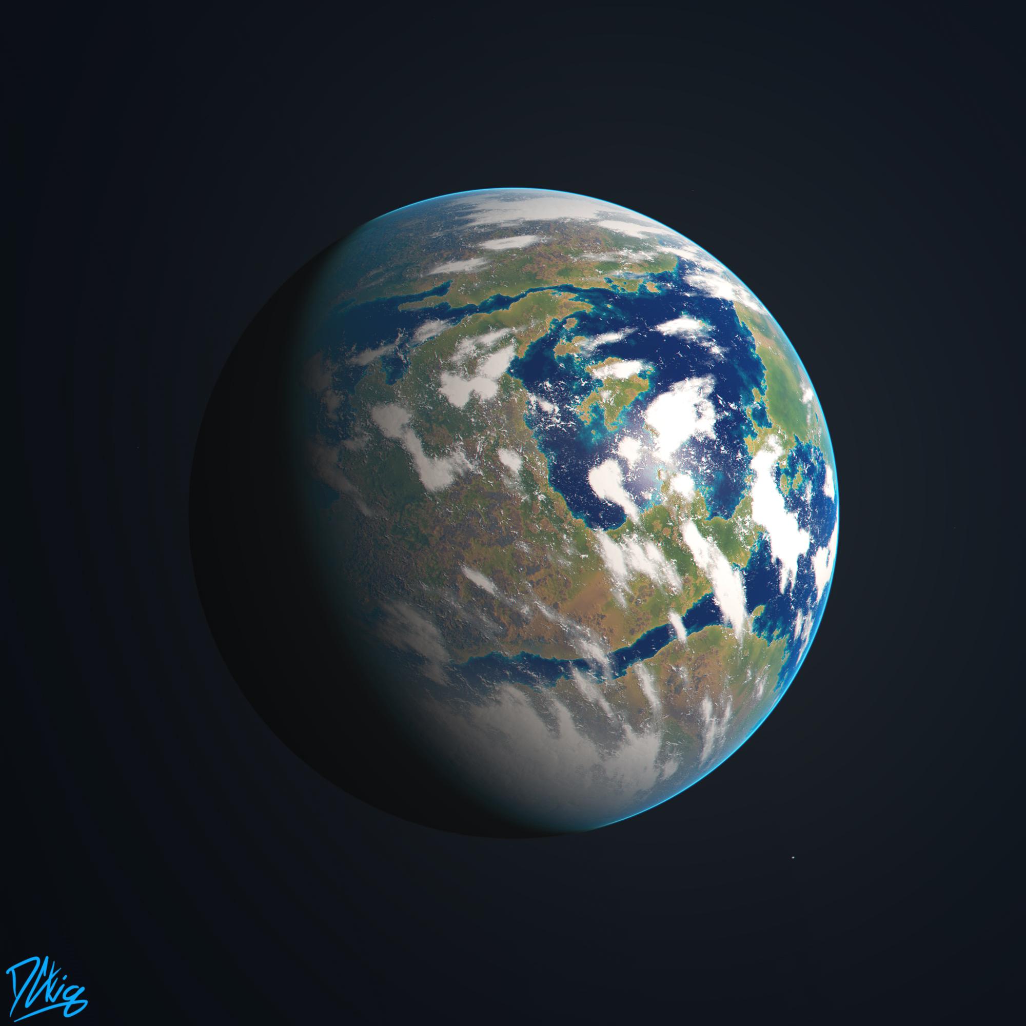earth like world planet - photo #12