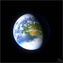 Earth-like Planet - Experiment 2