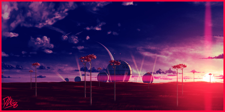 Silver Moon - Scientific Outpost - Savanna
