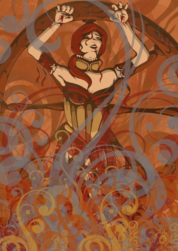 Sabrina's Flame by MidgetR