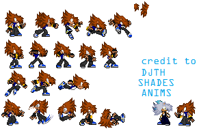 This is My 1st Sprites Sheet by IzzLenovo