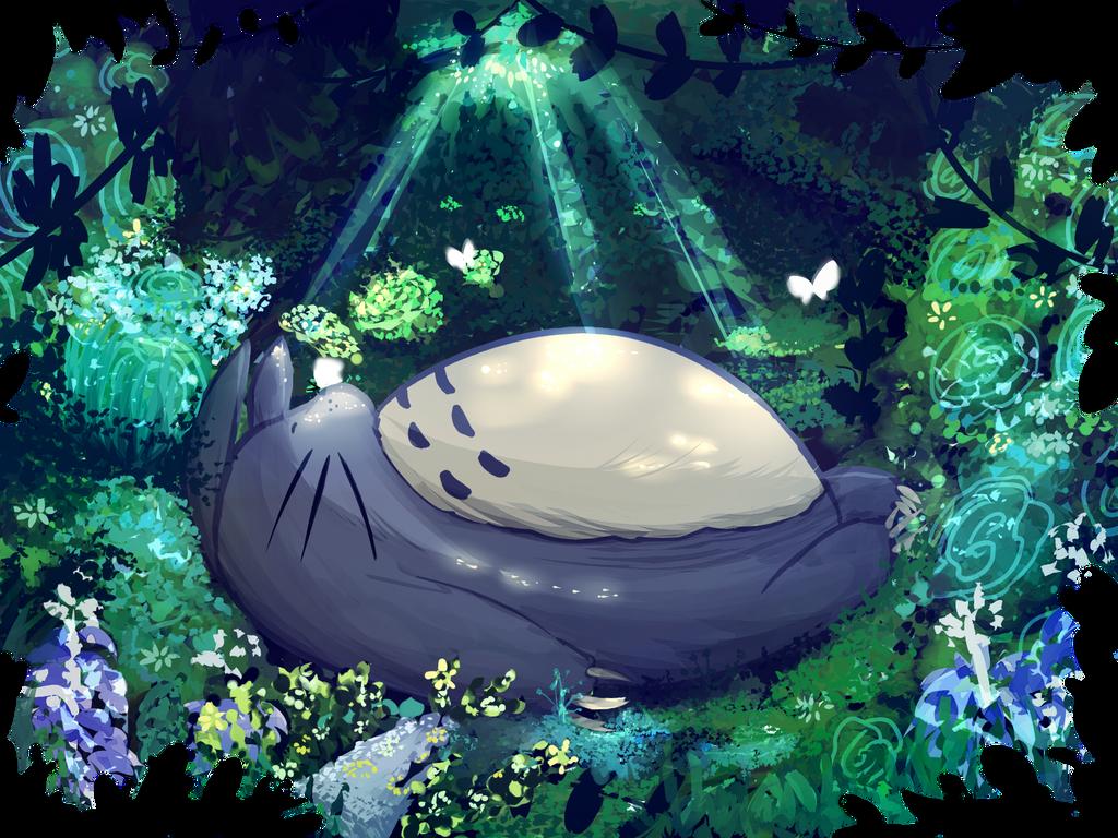 Totoro by Kirimimi