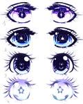 Eyes Shojo manga example