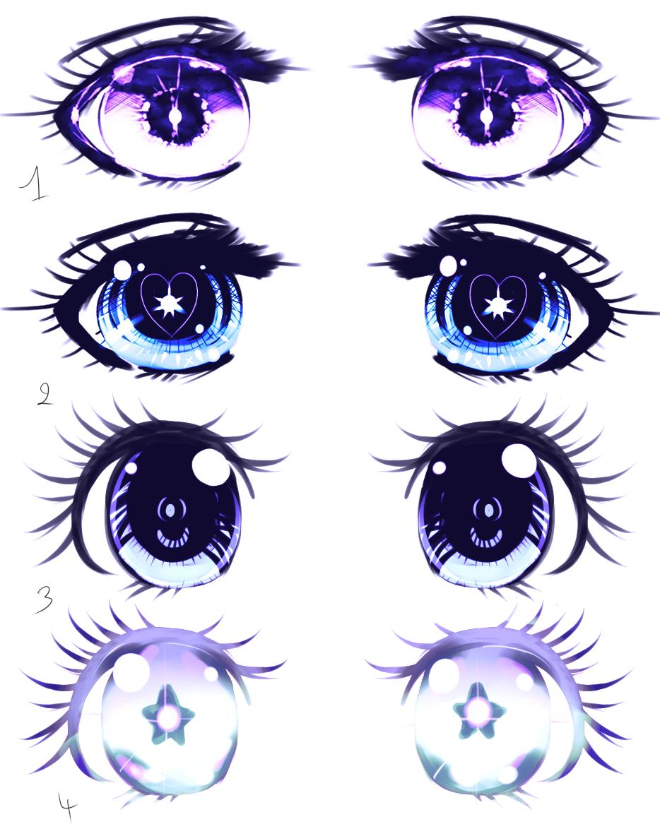 Eyes Shojo manga example by Kirimimi