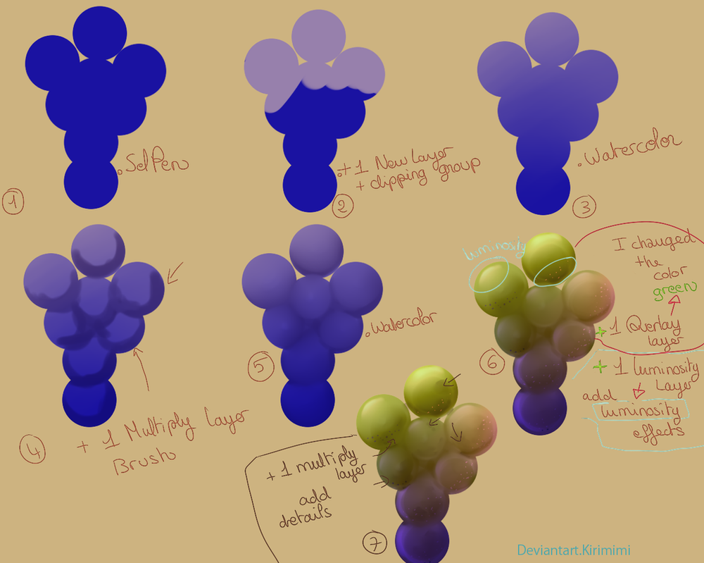 Grapes Tutorial SAI by Kirimimi