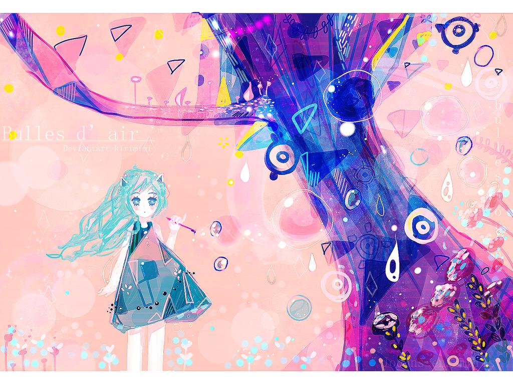 Bulles d'air by Kirimimi