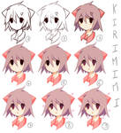 Step by Step (new)coloring sai