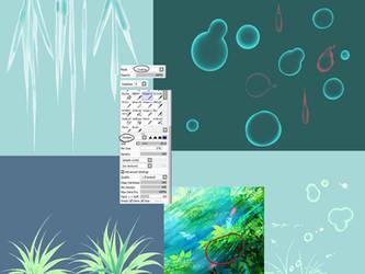 [Tool] bubbles , grass, ice by Kirimimi