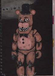 Withered Freddy by CatoftheCosmos