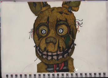Springtrap by CatoftheCosmos