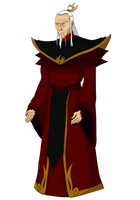 Fire Lord Azulon by JTD95