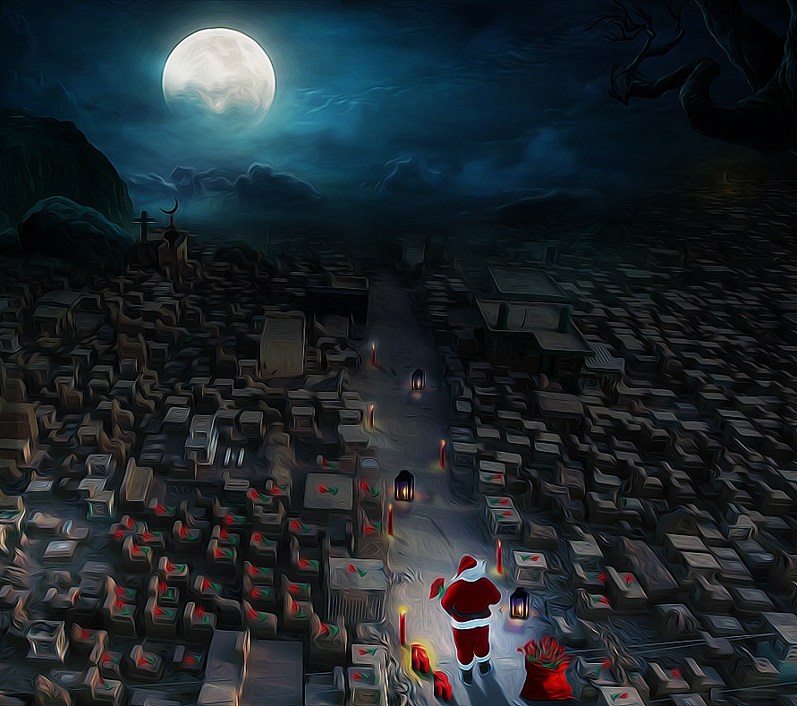 Santa Claus in Iraq Special Missions by algburi