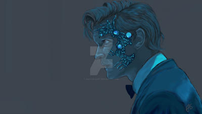 the 11th doctor by saltaeasart