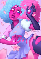 Cotton Candy Mom by melinavarela