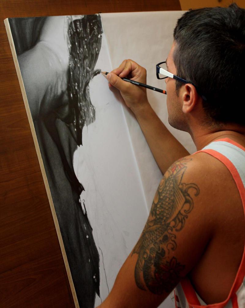 Diego Fazio's Photorealistic Pencil Drawings 1