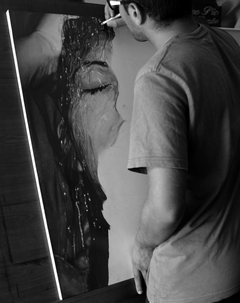 Diego Fazio's Photorealistic Pencil Drawings 2