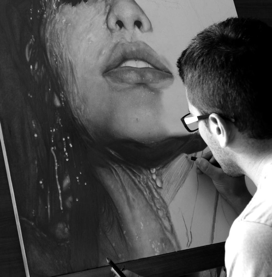 Diego Fazio's Photorealistic Pencil Drawings 3