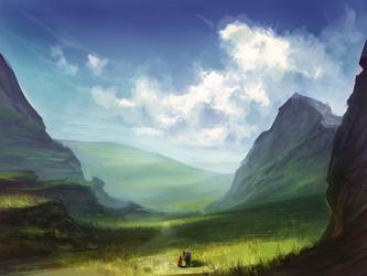 Landscape by WolfsECHO