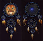 Cougar dreamcatcher