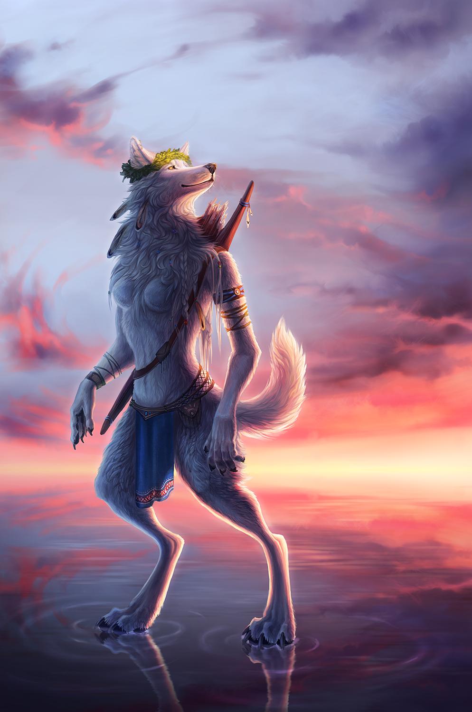 Sunrise hunter by WolfsECHO
