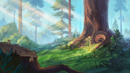 Forest by WolfsECHO