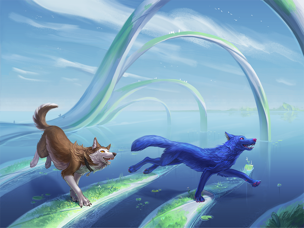 Echo's worlds #1 by WolfsECHO