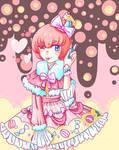Ruruka in lolita style