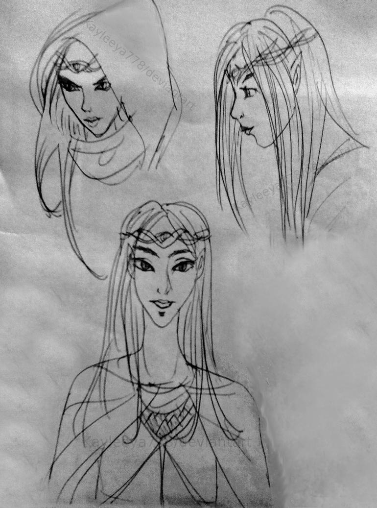 Airinn- sketches by Kayleeya778