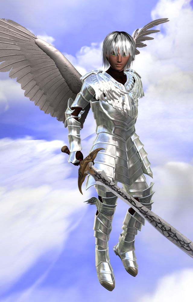 Angel Knight by Ryozen on DeviantArt