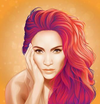 Jennifer Lopez by nellies