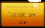 Fan Artist of the month: June by rydi1689