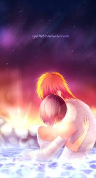 . We belong together .