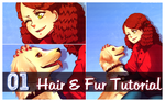 Video Tutorial: How to draw hair and fur in SAI