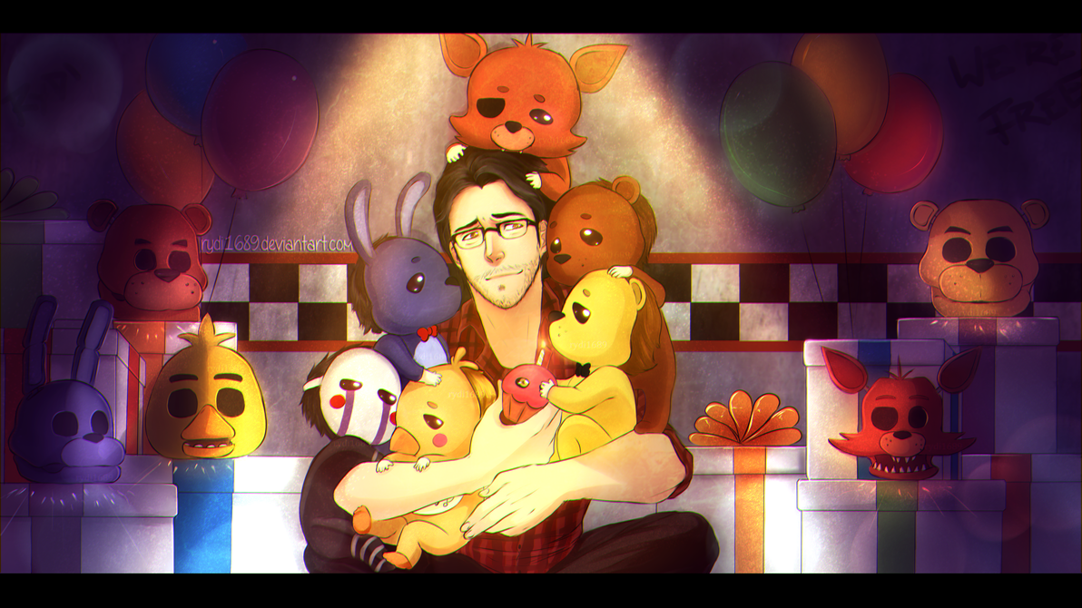 markiplier is the savior of five nights at freddys by rydi1689 on