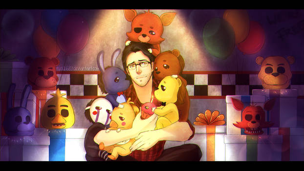 Markiplier is the savior of Five Nights at Freddys