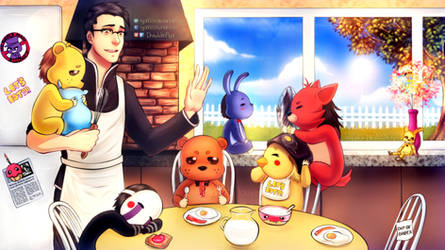 Markiplier is the father of Five Nights at Freddys