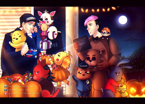 Trick or Treating with Markiplier and Scott