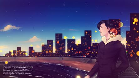 CITY OF STARS | Markiplier fanart