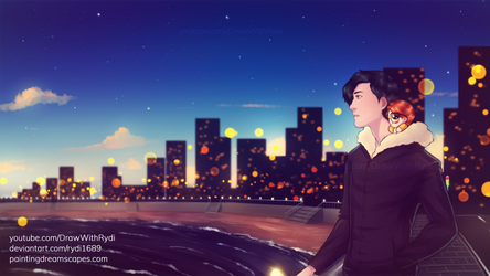 CITY OF STARS | Markiplier fanart