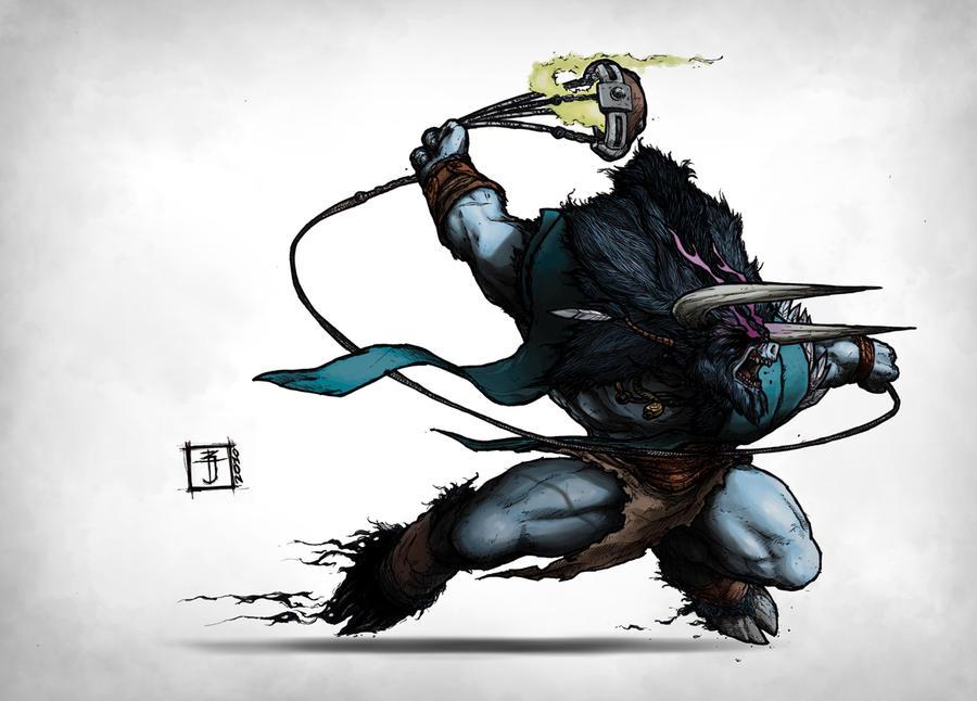 DOTA - Barathrum the Spirit Breaker by Geoffrey-E on ...