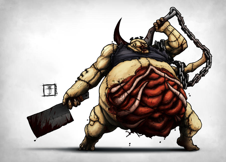 DOTA - Pudge the Butcher by Geoffrey-E on DeviantArt