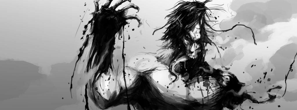 Shingeki no Kyojin - Mere Flesh Wound by Geoffrey-E