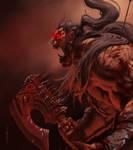 Warcraft - Grom Hellscream