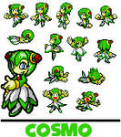 Sonic Advanced - Cosmo Sprites