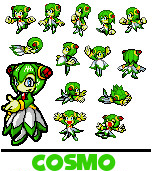 Sonic Advanced - Cosmo Sprites by SpicedUp64