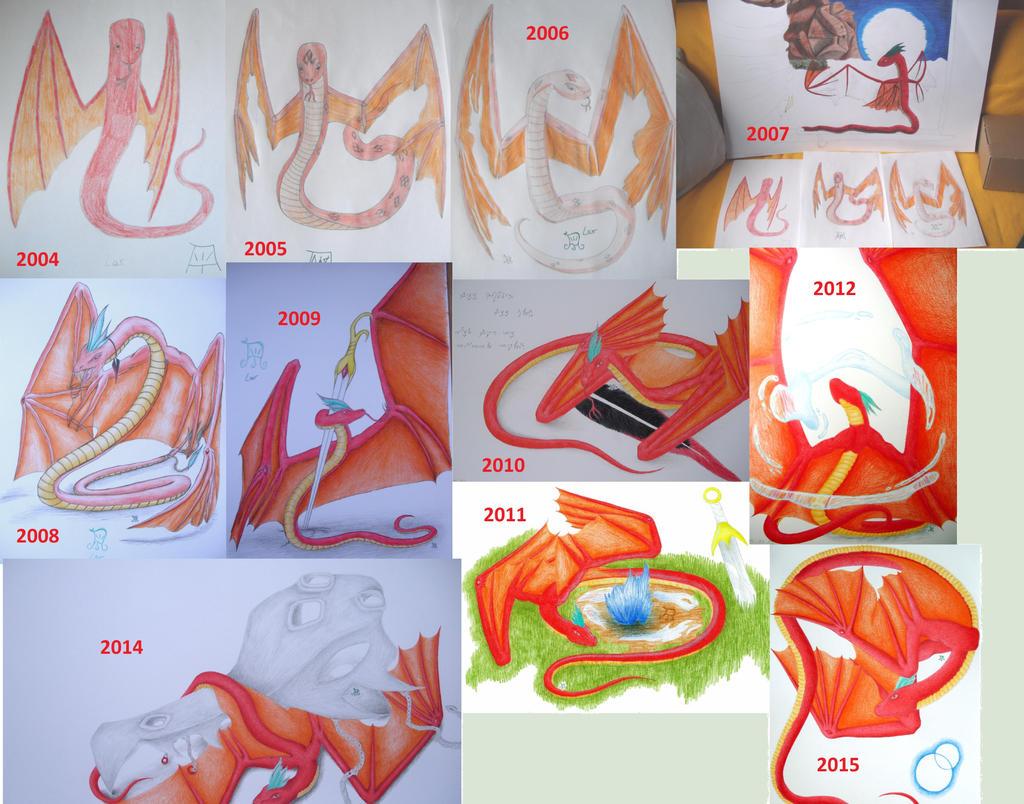 15.11. : 2004 - 2015 by Winddancer-Lor