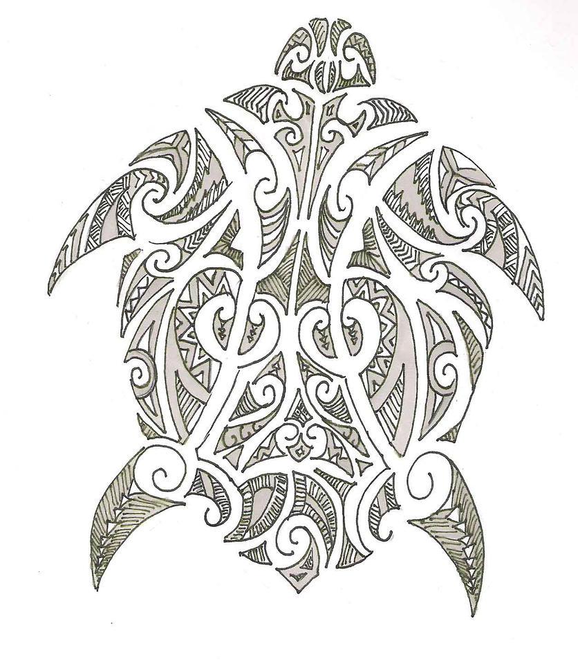Turtle design - photo#14