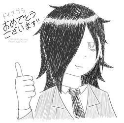 So Watamote is getting an anime