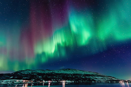 The Northernlights of Norway